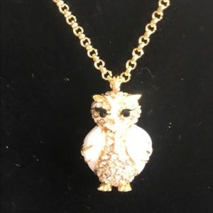 kate spade Jewelry - New Kate spade star bright owl necklace